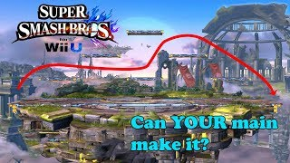 Who Can Complete the Big Battlefield Challenge? - Super Smash Bros. for Wii U