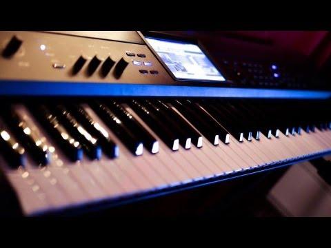 Punteos del Judas teclado korg krome cumbia