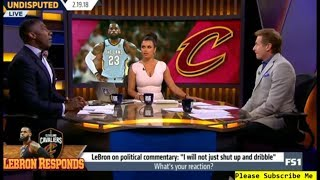 LeBron's response to criticism: I will not shut up and dribble (2018 NBA)