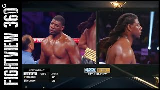 DQ! MARTIN VS CORBIN FULL POST FIGHT RESULTS! CORBIN WANTED OUT? ARREOLA AGUSTIN WINNER POSSIBLE?