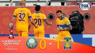 ¡TIGRES HISTÓRICO! ¡🐯 FINALISTA! | PALMEIRAS 0-1 TIGRES | Mundial