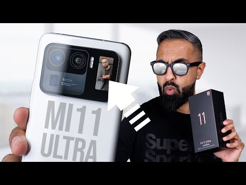 Xiaomi Mi 11 Ultra UNBOXING
