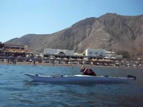 Santorini Sea Kayak Eskimo Roll