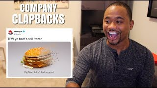 COMPANY CLAPBACKS (ft Wendy's) 2019 | Alonzo Lerone