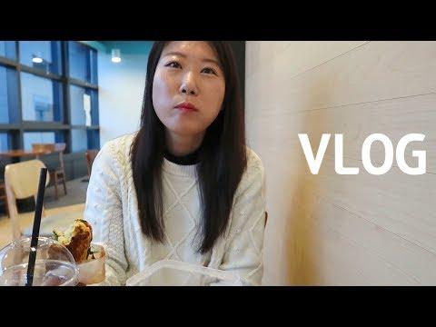 [자막]VLOG | 언위치 샌드위치 다이어트 식단, 짜파게티+총각김치, 이베리코 목살,  역전할머니맥주 일상브이로그