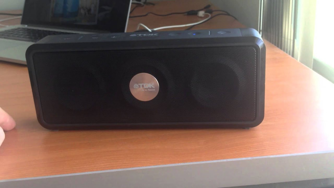 TDK A33… The Best Sounding Bluetooth Speaker? | Ali Dark
