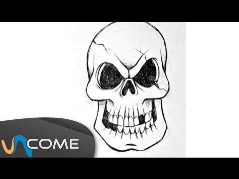 Come disegnare un teschio per halloween for Sito per disegnare
