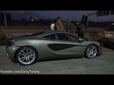 McLaren 570S - Start Up and Acceleration Sound
