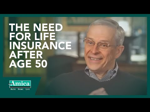 The need for life insurance after age 50
