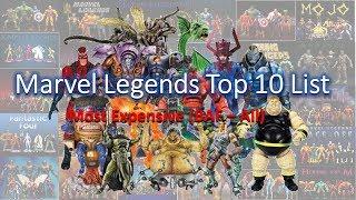 Marvel Legends Top 10 List most expensive baf (all)