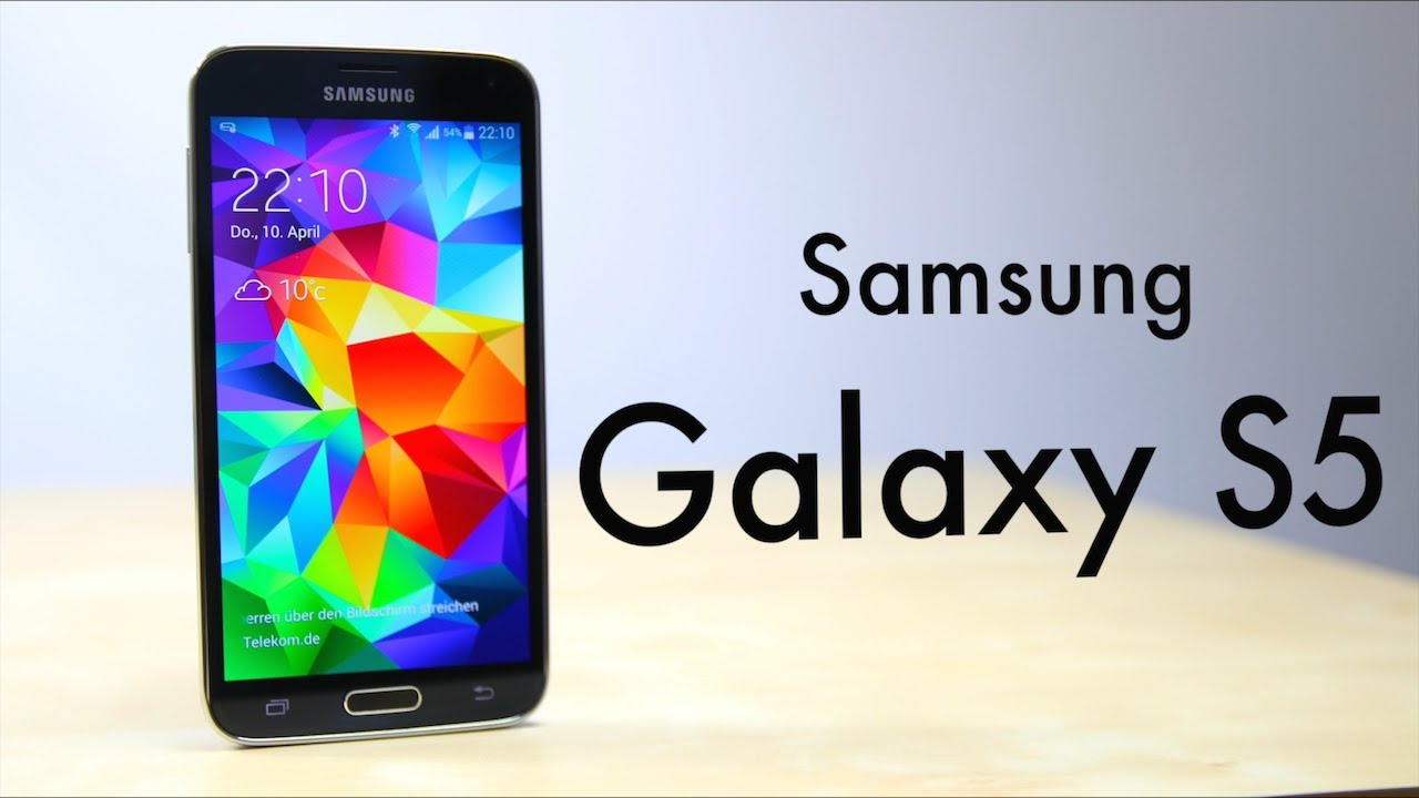Review: Samsung Galaxy S5 (Deutsch) | SwagTab - YouTube