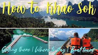 BEST Part of Thailand? Khao Sok National Park | Know BEFORE You Go!