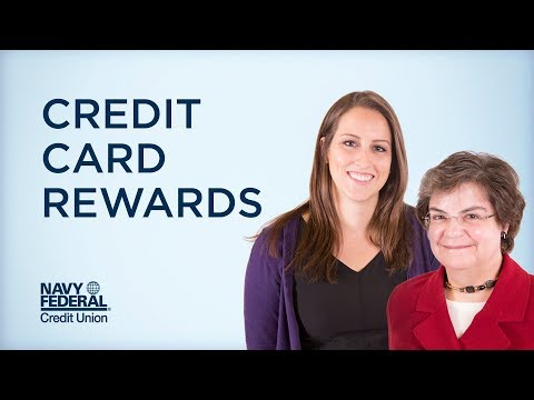Let's Talk Credit Cards and Rewards   Navy Federal