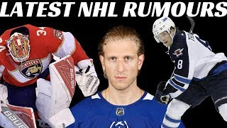 NHL Trade Rumours - Jets, Canucks, Leafs & Panthers