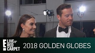 Armie Hammer Details James Franco's Exclusive Globes Dinner   E! Live from the Red Carpet