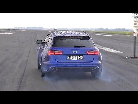 730 HP Audi RS6 Performance 4.0 TFSI V8 Quattro PP-Performance 1/2 Mile Drag Race