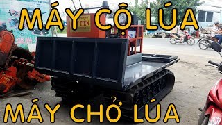 Máy Cộ lúa,Máy Chở Lúa,Máy chở lúa đi lầy , Cộ lúa trên đồng ruộng, máy vận chuyển lúa-01239000100