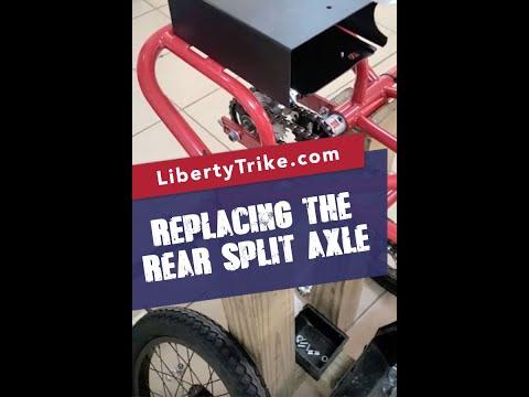 LT rear split axle replacement