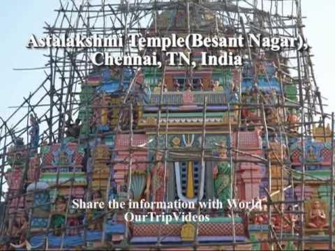 Pictures of Ashtalakshmi Temple (Besant Nagar), Chennai, TN, India