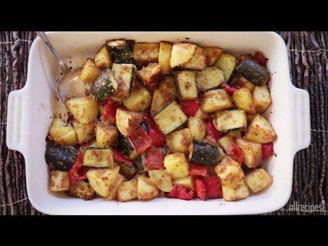 One Pan Recipes - How to Make Zucchini Potato Bake