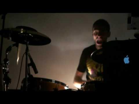 Би-2 - Drum solo Бориса Лившица (Ikra 21/02/10)