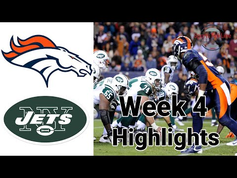Thursday Night Football Broncos vs Jets Highlights Full Game | NFL Week 4