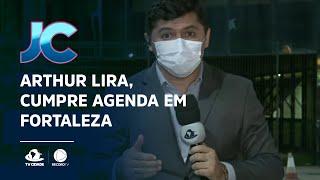 Arthur Lira, candidato à presidência da Câmara Federal, cumpre agenda em Fortaleza
