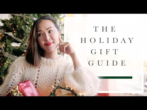Holiday Gift Guide 2016 - Beauty, Fashion, Mens, Girlfriends, Foodie