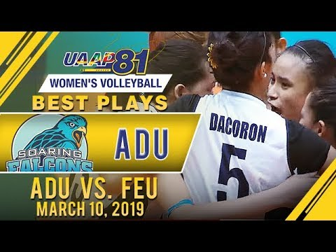UAAP 81 WV: Joy Dacoron's Best Plays | AdU vs. FEU | March 10, 2019