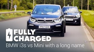 BMW i3s vs Mini with a long name   Fully Charged