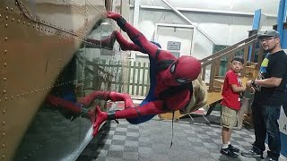 SPIDER-MAN Wall Crawling @ Comic Con Palm Springs 2018