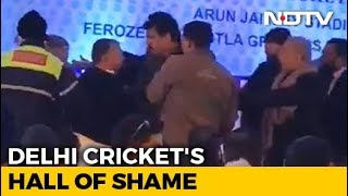 Fist fight at Delhi cricket body's meet, Gautam Gambhir wa..