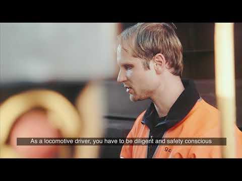 Green Cargo medarbetarporträtt: Erik, lokförare och gruvdykare