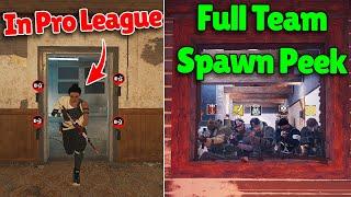 How Pro Players Use BUFFED Kapkan | FIVE Man Spawn Peek! - Rainbow Six Siege