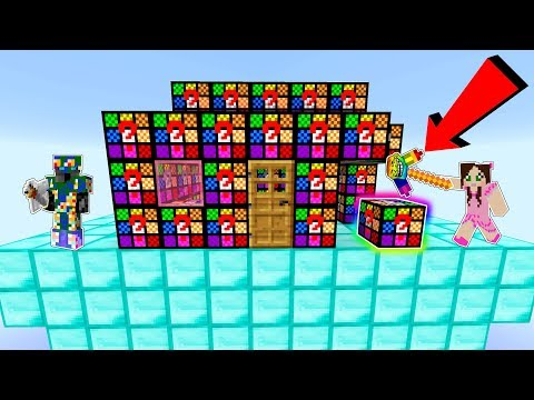Minecraft: TROLL LUCKY BLOCK HOUSE INVADERS!!! - Modded Mini-Game