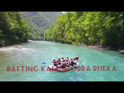 Tara River Rafting in Montenegro - Visit #Rafting Camp Modra Rijeka For The Best White Water Rafting
