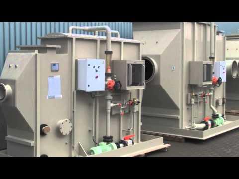 Gaswasser opstelling