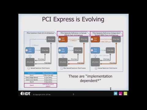 PCI Express (PCIe) Clock Overview by IDT