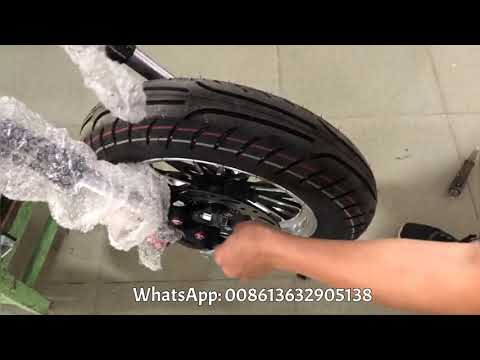 How to assemble the front wheel of Rooder citycoco Chopper scooter