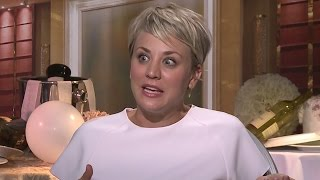 Kaley Cuoco-Sweeting's Wedding Dance Moves- The Wedding Ringer Interview