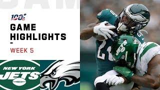Jets vs. Eagles Week 5 Highlights   NFL 2019