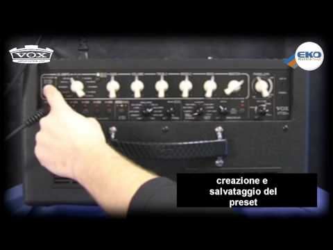 VOX VT20+ video manual parte 1