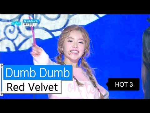 [HOT] Red Velvet - Dumb Dumb, 레드벨벳 - 덤덤, Show Music core 20160109