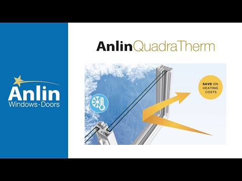 Anlin's QuadraTherm Ultimate Dual Pane Insulation System