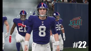 Madden 20 Giants Franchise Rebuild Season 2: A NEW HOPE! Episode #22
