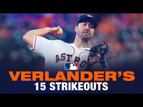 Justin Verlander BRINGS THE FLAMES for 15 Ks