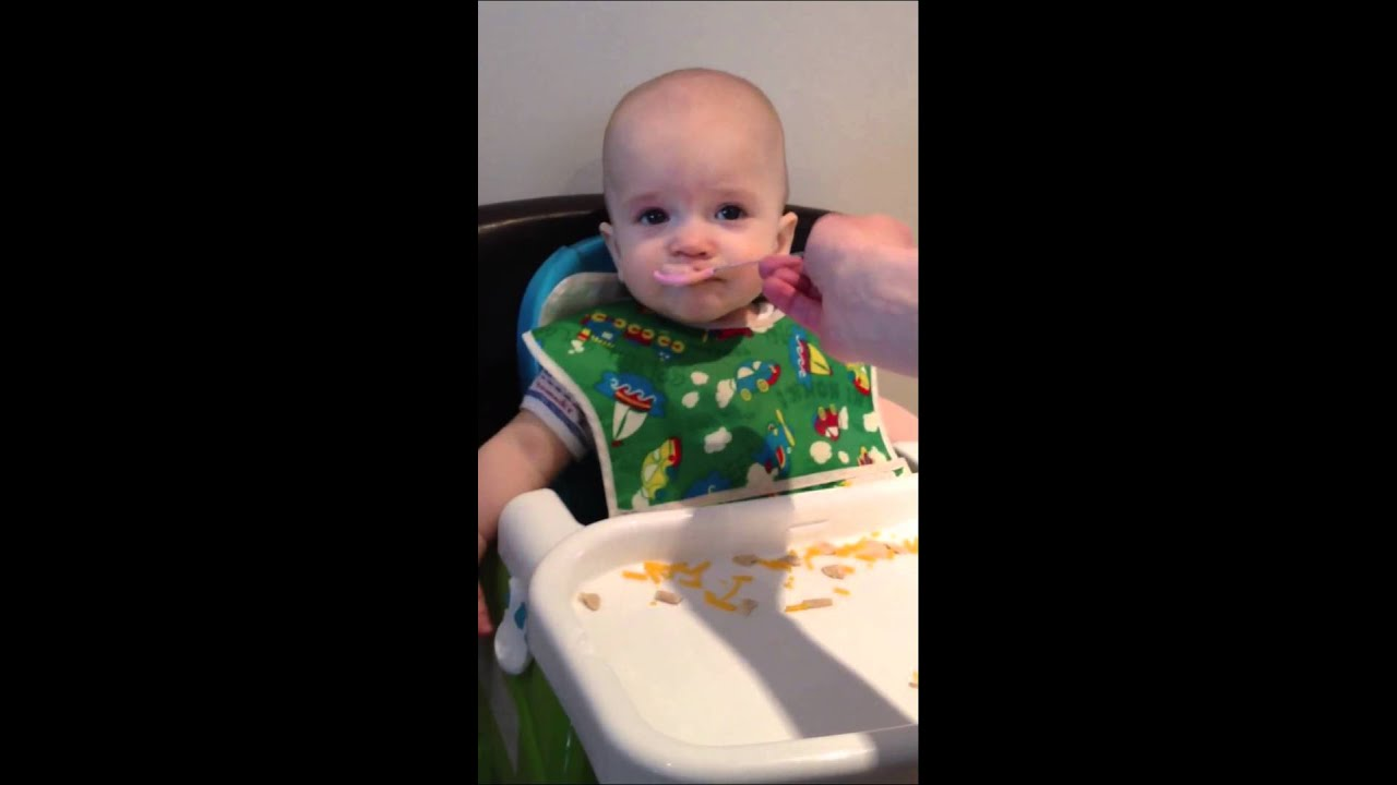 Babies Eating Food Pictures