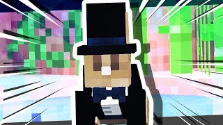 I CAUGHT THE MINECRAFT TUXEDO RABBIT!!! [#8]