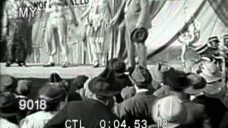 1920s Circus Freak Show: Bearded Lady, Jack Sprat and Wife
