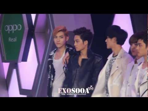 [EXOsooa] HQ EXO KAI Fancam Happy Camp TWO MOONS